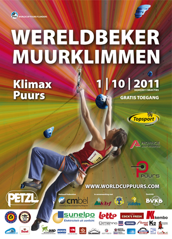 Worldcup lead climbing puurs