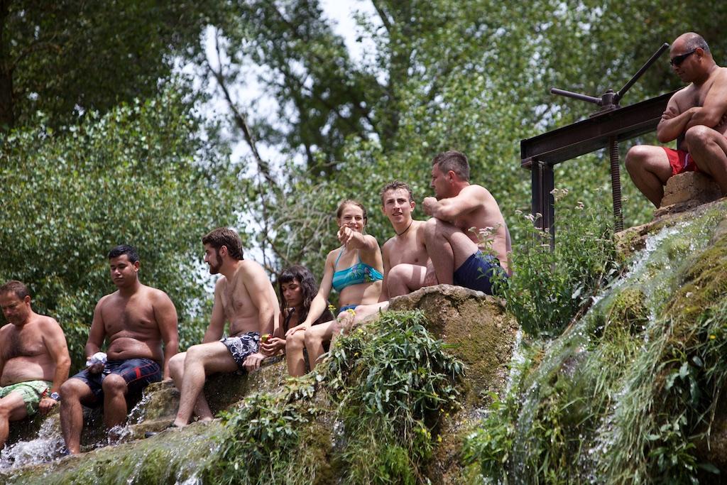 El salto de Bierge, rio Alcanadre